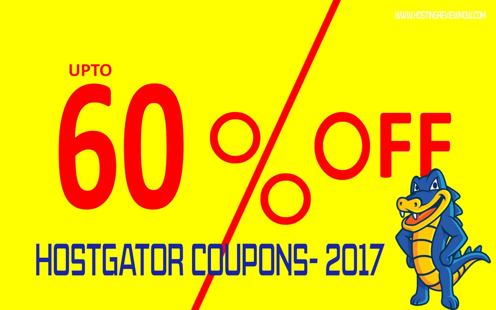 hostgator coupon code 2017
