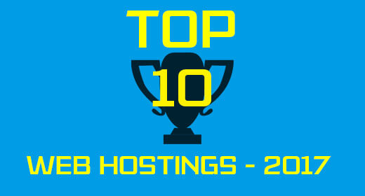 top ten hostings 2017