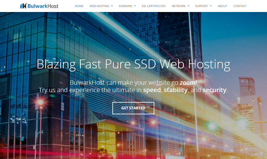 BulwarkHost Review 2017 : Pure SSD Web Hosting