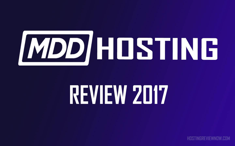 mdd hosting review 2017