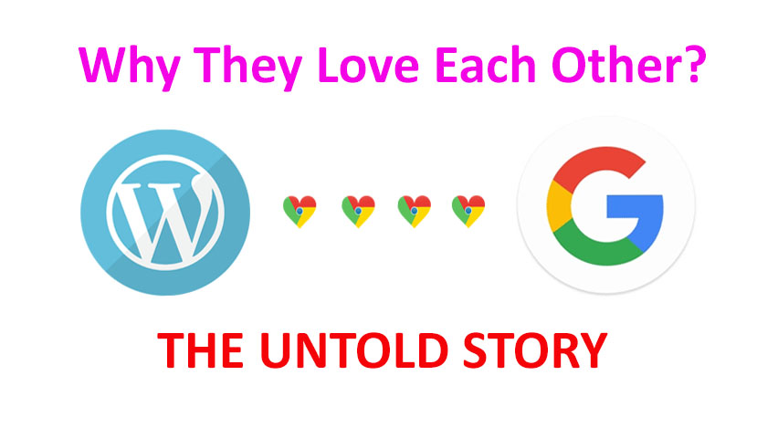 Why google loves wordpress