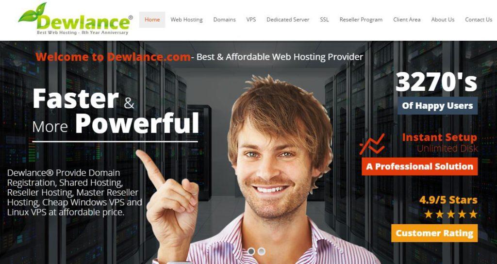 dewlance hosting review