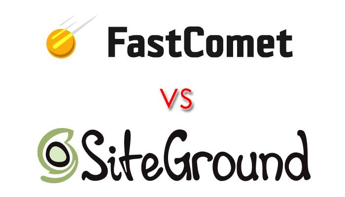 FastComet vs SiteGround