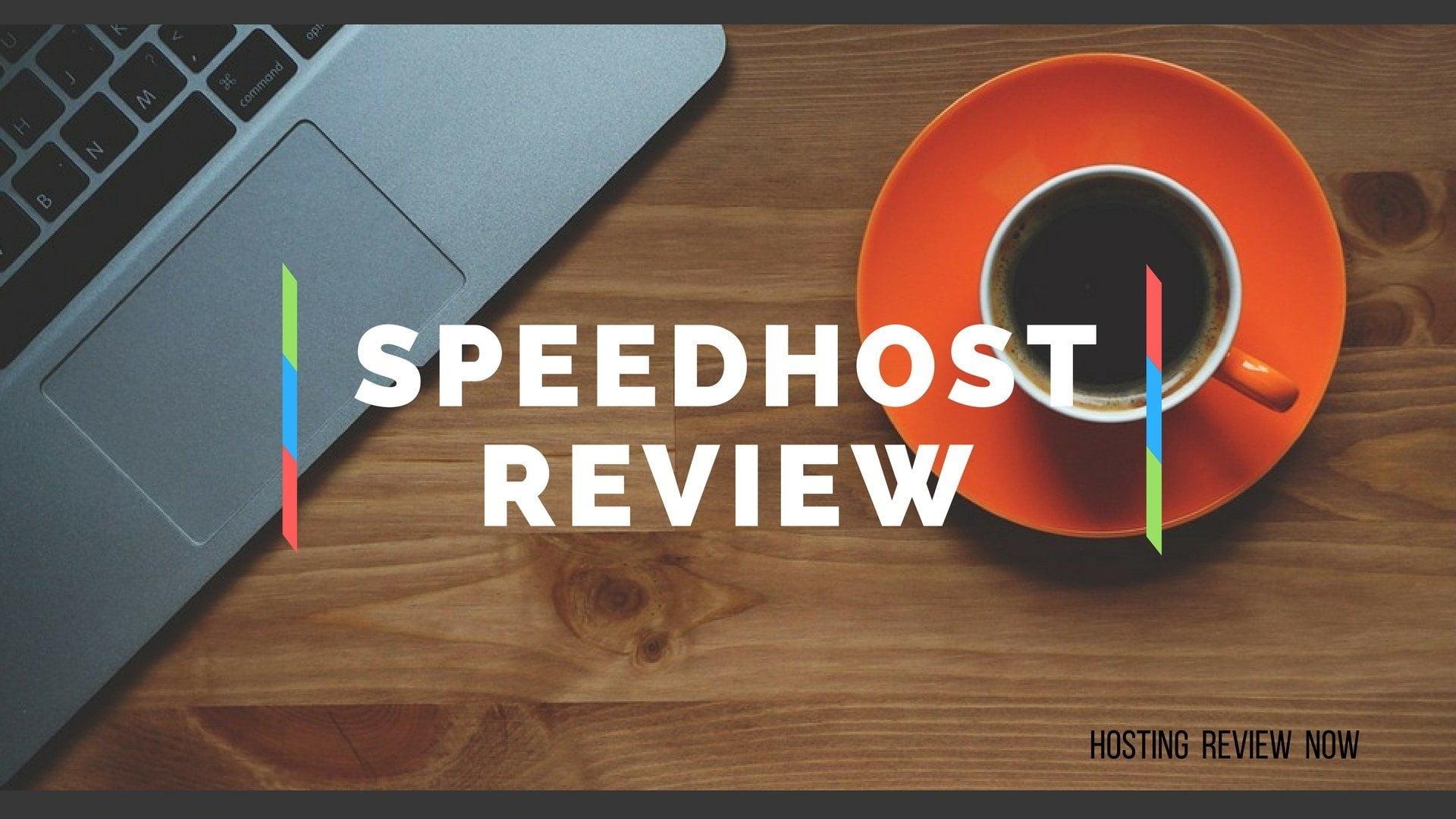 SpeedHost Review
