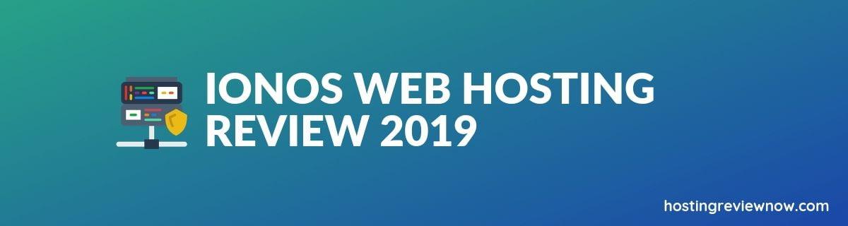 Ionos Web Hosting Review
