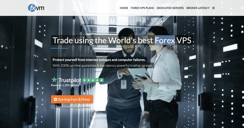 FXVM Forex Hosting